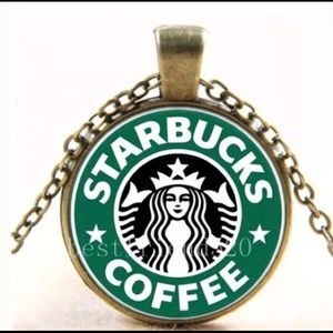 Starbuck's Antique Brass Jewelry Set!